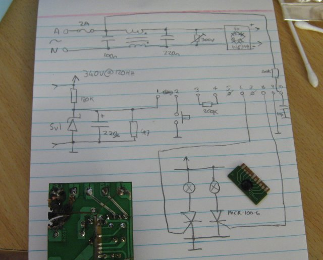 The Circuit Diagram Reverse-Engineered From The Board