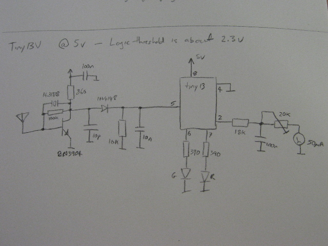 Test Circuit with RSSI Output