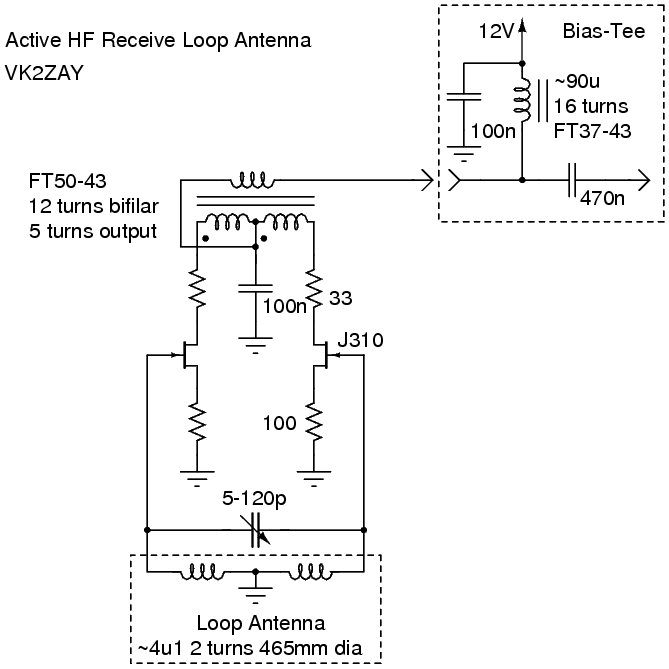 Active Loop Circuit Diagram