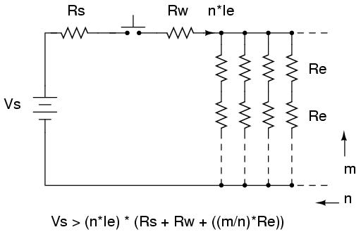 e-match series-parallel circuit