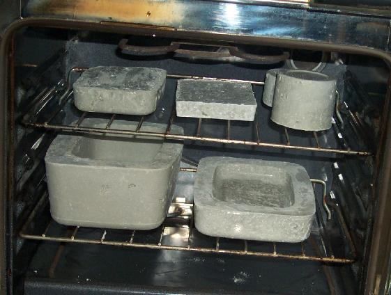 refractory drying in oven