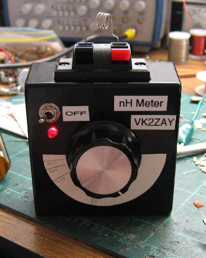 nH Inductance Meter