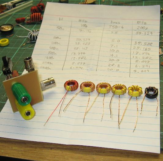 My Inductance Standards