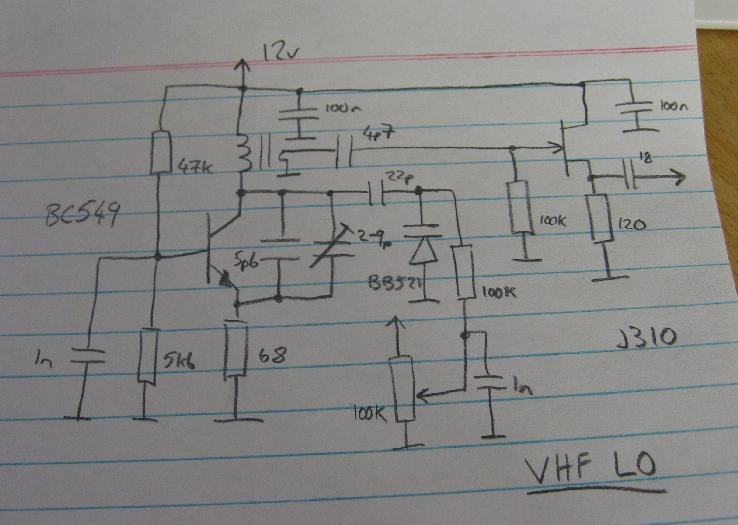 VFO Local Oscillator Circuit