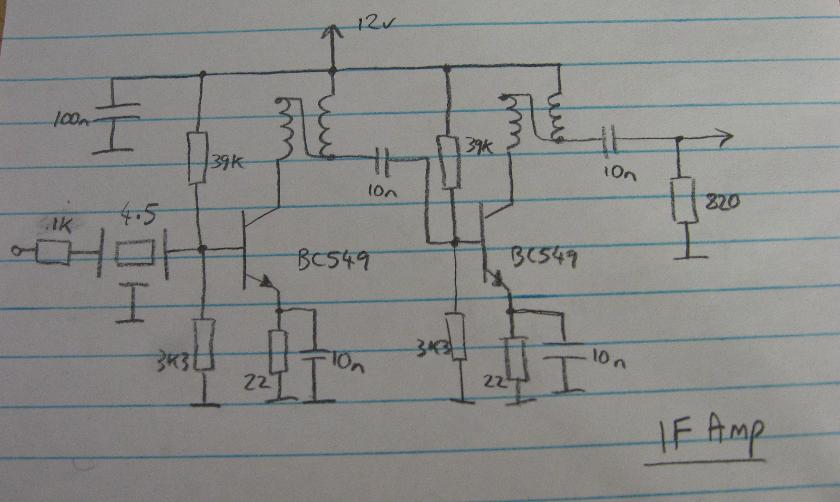 IF Amplifier Circuit