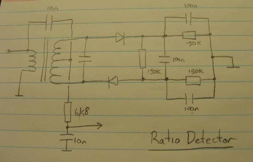 Ratio Detector Circuit