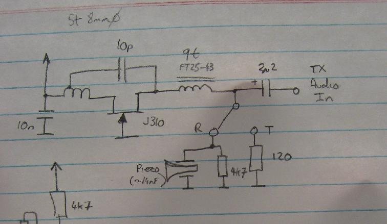 Source Modulated Initial Circuit