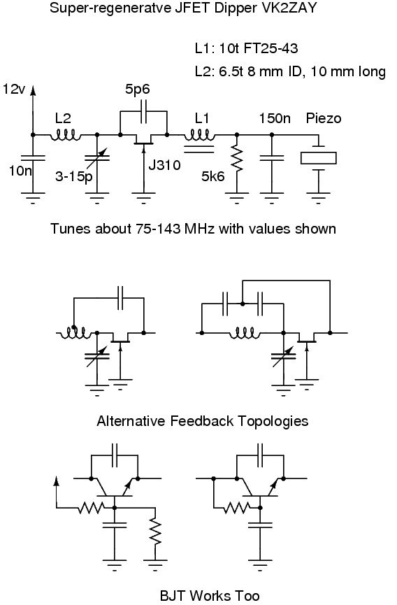 JFET Version Schematic
