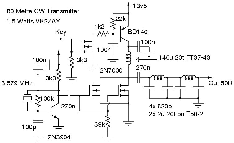 Transmitter Circuit Diagram