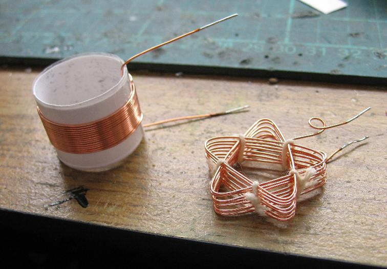 Solenoidal and Basket-Weave Coils